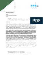 concepto matricula 0 fuentes de financiacion entidades territoriales