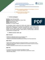 Matriz Posibilidades Pedagógicas, Didácticas y Tecnológicas - Ricardo Arteaga
