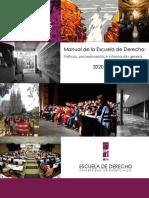 Manual de la Escuela de Derecho UPR 2020-2021
