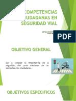 COMPETENCIAS CIUDADANAS EN SEGURIDAD VIAL