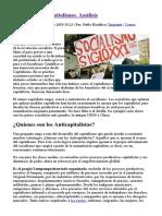 Marx y el Anticapitalismo. Análisis - Portal Libertario OACA