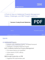 Intellectual+Property+Management+POV+-+History-+Challenges-+and+IBM+Thought+Leadership