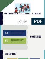 COMUNICACIÓN Y RELACIONES HUMANAS