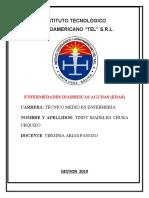 ENFERMEDADES DIARREICAS AGUDAS edas