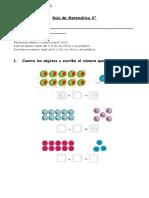 2° año   -   Matemática  -  numeración hasta 20 - S2C3