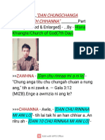 Dan chungchanga zawhna leh chhanna part two by Hlana Khiangte.