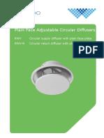 Waterloo RWV-plain-face-adjustable-circular-diffusers