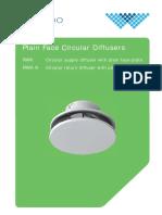 Waterloo RWK-plain-face-circular-diffusers
