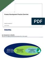 Deloitte - Product Development Practice Overview (1)