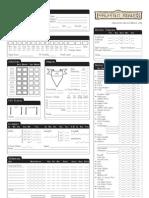 Forgotten Realms Character Sheet 1.63 BW