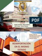 REIMPORTACIÓN EN EL MISMO ESTADO - AULA 407