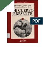 [6]Varela, Thompson, & Rosch - De cuerpo Presente.pdf