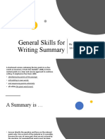 General Skills for Writing Summary (1) (1)