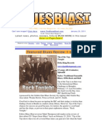 Blues Blast Magazine - January 20, 2011