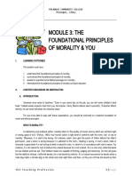 Module-3-The-Foundational-Principle-of-Morality-and-You