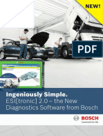 NEW! Ingeniously Simple. ESI[tronic] 2.0 the New Diagnostics Software from Bosch (2)