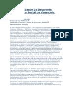 23 ley del banco de desarrollo económico y social de venezuela (bandes)
