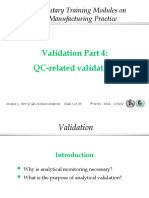 VALIDATION PRESENTATION