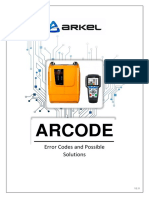 ARCODE Error Codes and Possible Solutions_V2.0_en