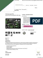 Werkzeugkoffer aluminiumverstärkt 500-tlg