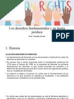 Derechos fundamentales y su teoría jurídica