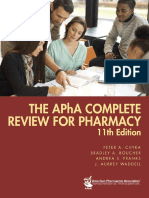 The APhA Complete Review for Pharmacy, 11th Edition