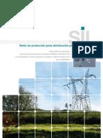 Relés de protección para distribución primaria y secundaria