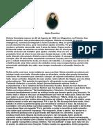 Livro - O diário de Santa Faustina_