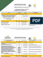 Programao Semana Do Municipio 2011