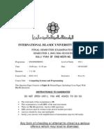 ECE 1113, final exam sem 1 05/06