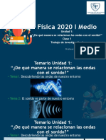 I medio-Física-Clase 1, Ondas  y Trabajo de investigación 1-01-04-2020 -