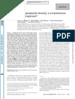 Apprehending ganglioside diversity a comprehensive methodological approach