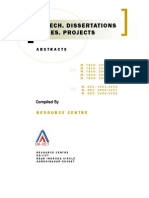 Thesis Abstracts 2008