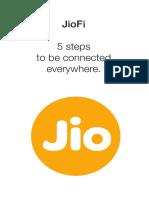 JIO FI Manual