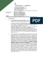 INFORME LEGAL modificacion de ordenanza