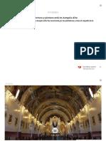 El templo de la bella arquitectura y pintura está en Acequia Alta _ Diario Correo