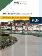 Conseils de Mise en Oeuvre de Béton Désactivé - UNIDECOR.pdf
