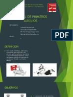 GRUPO 9_MANUAL DE PRIMEROS AUXILIOS