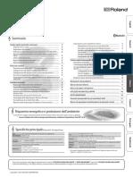 roland fp 30 manuale