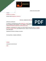Carta de Adjudicacion