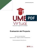 2.3 Texto Guía Evaluación del Proyecto