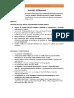PAPELES DE TRABAJO - ARCHIVO CORRIENTE