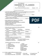 Economics Preliminary Paper 2010-2011
