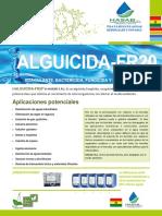ALGUICIDA-FR20 Brochure HASAB S.R.L.