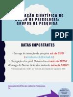 A Iniciação Científica no Curso de Psicologia 2020_atualizado