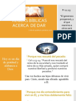 REGLAS BÍBLICAS ACERCA  DE DAR.pptx
