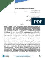 Canção e currículos - análises e perspectivas de interação