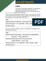 PostgreSQLWithHibernate