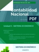 Unidad II - Sistema Económico