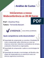 Webconferencia_Mod 1_Gestao e Analise de Custos